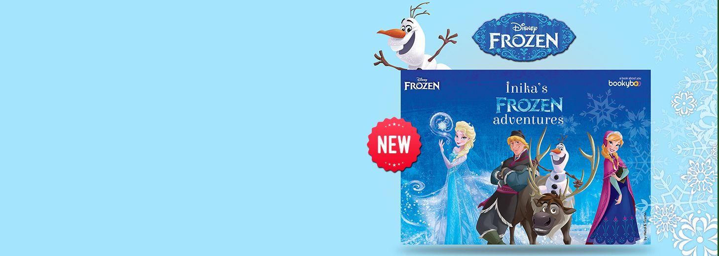 Frozen perosnliased book