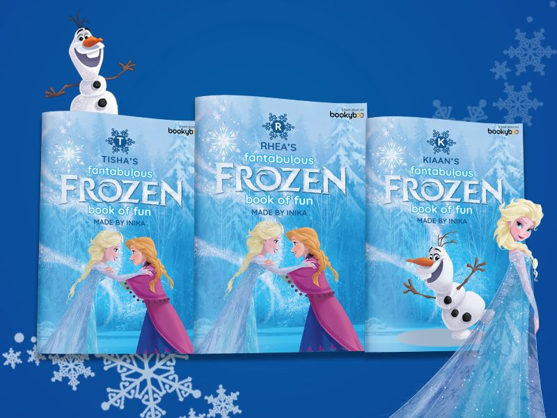 My Fantabulous Frozen Book Of Fun